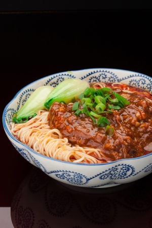 Bejing Noodles with Meat Sauce