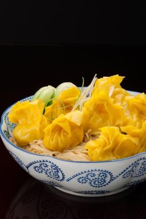 HK Style Wonton Noodle Soup