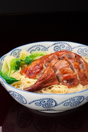 Roast Duck with Noodles